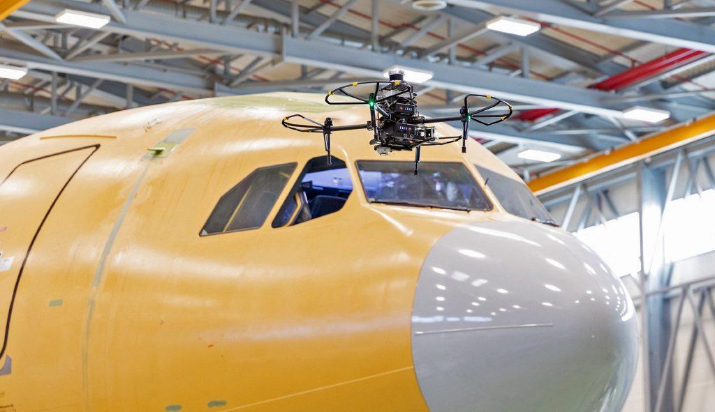 La maintenance par drone